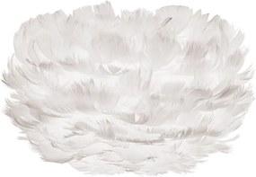 Biele tienidlo z husieho peria VITA Copenhagen EOS, Ø 22 cm