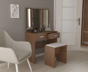 Toaletný stolík s taburetom Camis