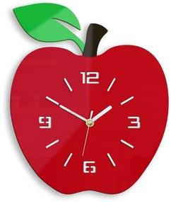 Mazur Nástenné hodiny Apple červené