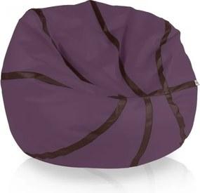 Sedací vak Basketbal levanduľa