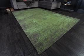 (2979) POP ART dizajn koberec 240x160cm smaragdovo zelená
