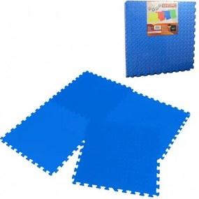 5485 EVA Penové puzzle na zem 60x60 - 4ks Modrá