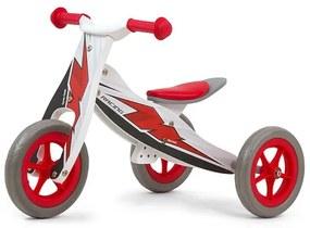MILLY MALLY Nezaradené Detské multifunkčné odrážadlo 2v1 Milly Mally Look Racing Červená |