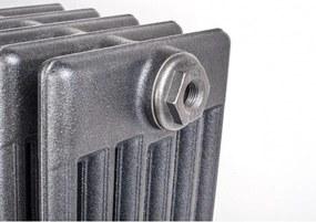 HOTHOT 10 článkov, Patina, 500x610 mm, Liatinový radiátor HH0248