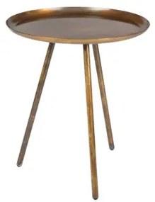 Odkládací stolek Frost copper Zuiver 2300098
