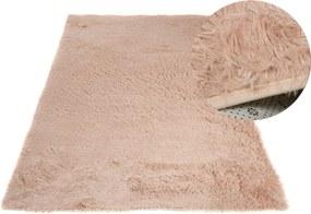 MAXMAX Plyšový koberec TOP - SVETLE BÉŽOVÝ