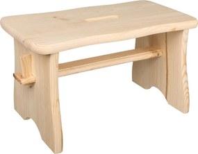 ČistéDrevo Drevená stolička