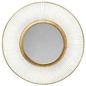 KARE DESIGN Zrkadlo Sun Storm Gold 93 cm