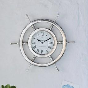 miaVILLA Nástěnné hodiny Kormidlo