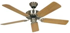 Stropný ventilátor Classic Royal 132 chróm/buk