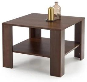 Konferenčný stolík Kvadro štvorcový tmavý orech