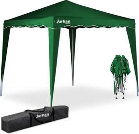 Jurhan & Co.KG Germany Party stan / pavilón CAPRI 3 x 3 m zelený UV- ochrana 50+