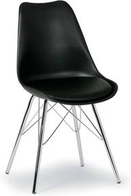 Konferenčná stolička Christine, čierna