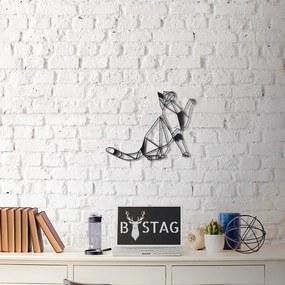 Nástenná kovová dekorácia Kitty, 36 × 51 cm