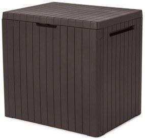 KETER CITY BOX 113L Záhradný úložný box 57,8 x 44 x 55 cm, hnedý 17208324