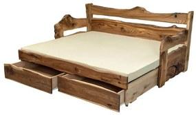 Posteľ ALMA vysúvacia Rozmer - postelí, roštov, nábytku: 80 x 200 cm