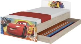 DO Max Disney Cars XL detská posteľ 180x90