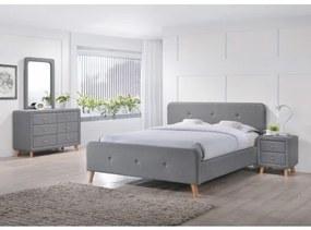 OSLO posteľ, Rozmer 180 x 200 cm