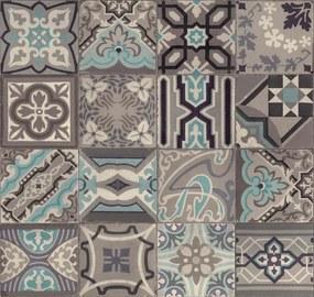 Dekoratívny obklad na stenu Ceramics 270-0169, rozměr 67,5 x 20 m, Simenta sivá- modrá , D-C-WALL CERAMICS