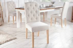 Dizajnová stolička Queen béžová