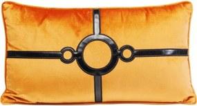 KARE DESIGN Sada 2 ks Dekoratívny vankúš Classy Circles 28×50 cm