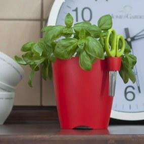 Kvetináč na bylinky Limes uno, 1,3 l, korálová,