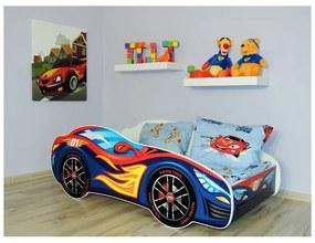 Detská posteľ Racing modrý 160x80