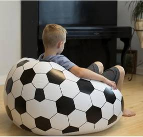 DR Nafukovacie kreslo futbal 90x90cm