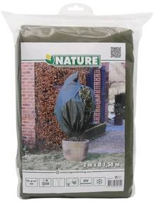 Nature Zimný ochranný návlek na rastliny, zelený, 1.5x2 m, 6030131