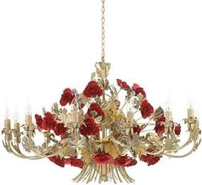 Interierové rustikálne svietidlo Ideal LUX CAMILLA SP12 173917