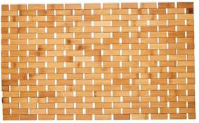 Kúpeľňová predložka bambusová - 40x60 cm