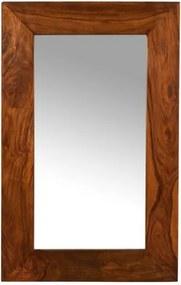 Zrkadlo Gani 60x90x2,5 indický masív palisander, Only stain