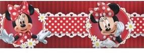 Samolepiaca bordúra Minie červená Bos2 10,6cmx5m
