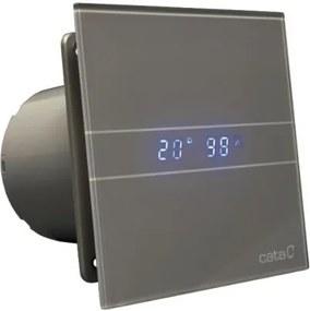 Cata ventilátor E-100 GSTH Silver Hygro