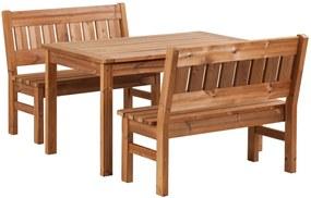 Záhradný drevený set PROWOOD z ThermoWood - SET M5 - Samostatný set