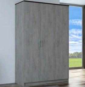 Šatníková skriňa Vendy 80, 127 cm