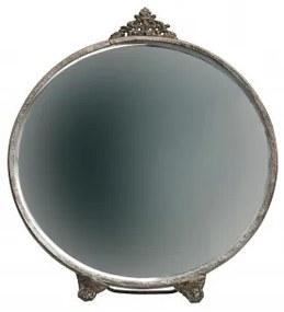 Zrcadlo stolní kulaté POSH ,metal-antická mosaz DEEEKHOORN 800865-B