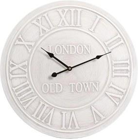 Nástenné hodiny London, 50 cm - šedá