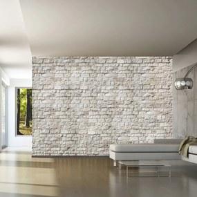 Samolepiaca tapeta tehlová stena - Simplicity