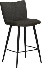 Čierna barová stolička DAN-FORM Denmark Join