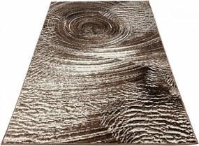 Kusový koberec Jami hnedý, Velikosti 60x100cm