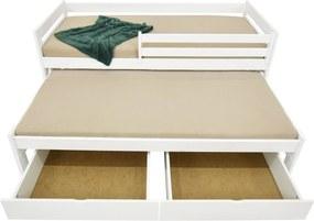 FA Detská posteľ Veronika 7 (200x90 cm) s prístelkou - viac farieb Farba: Dub