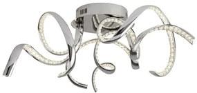 Searchlight 9233-3CC TWIRLS stropné svietidlo LED 3x38W 1900 lm