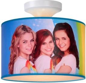 Lucide 34135/30/99 K3 Rainbow stropné svietidlo 1xE27