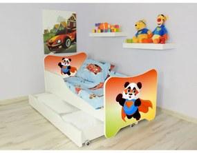 Posteľ s úložným priestorom 160x80 - Panda