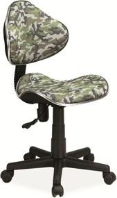 SIGNAL Q-G2 kancelárska stolička moro