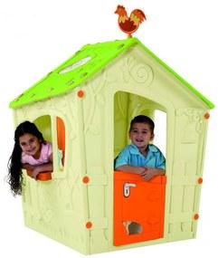 KETER MAGIC PLAYHOUSE detský domček, krémová/zelená 17185442