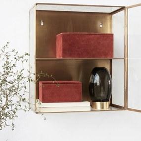 HOUSE DOCTOR Sada 2 ks − Úložná krabica Suede