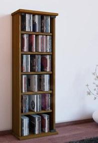 CD a DVD skrinka Vetro, dub