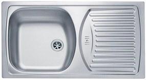 ALVEUS BASIC 150 kuchynský drez, 780x435 mm, satin 1009158